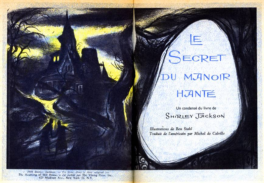 The haunting 1963 by robert wise books le secret du manoir hant france readers digest 1 1961 illustrations fandeluxe Choice Image